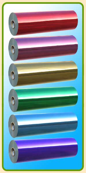 Metallized Color BOPP Film